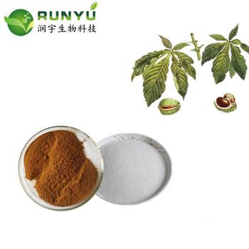Aesculus sinensis extract Horse chestnut extract Buckeye extract 20%UV,20%HPLC,98% Aescigenin/ AESCIN