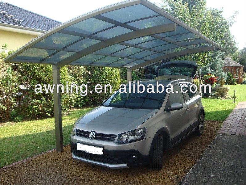 Cocheras garajes con policarbonato techo garajes for Garajes para carros