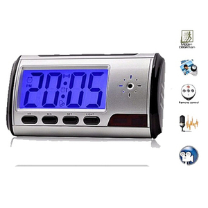 hot sale clock camera desk hidden cam Alarm mini DVR