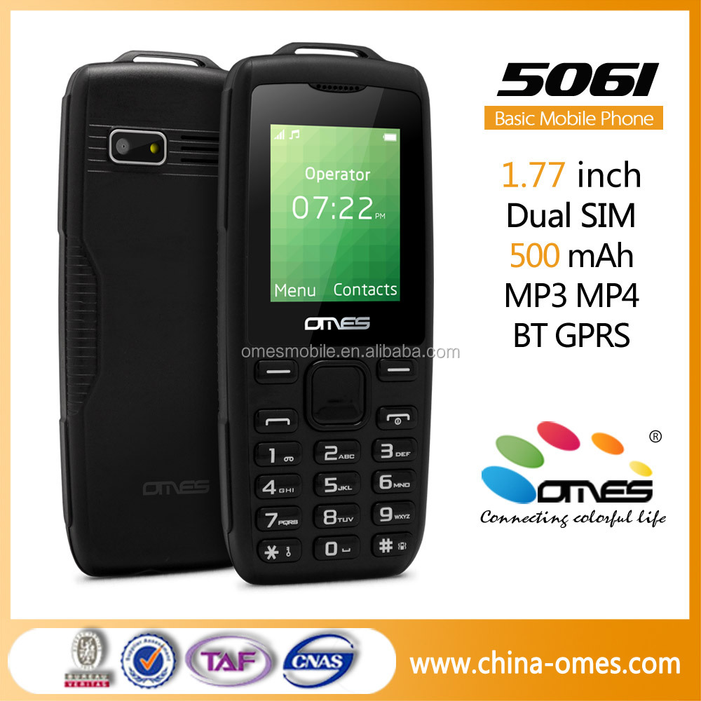 1.77 inch 2G quad bands dual sim dual standby cheap basic china mobile phone
