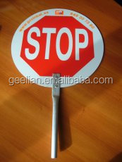 Road and street sign solar power flashing led stop signs/speed gun radar