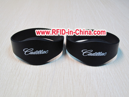 Programmable T5577 RFID Reusable Wristbands, Waterproof RFID Silicone Wristbands