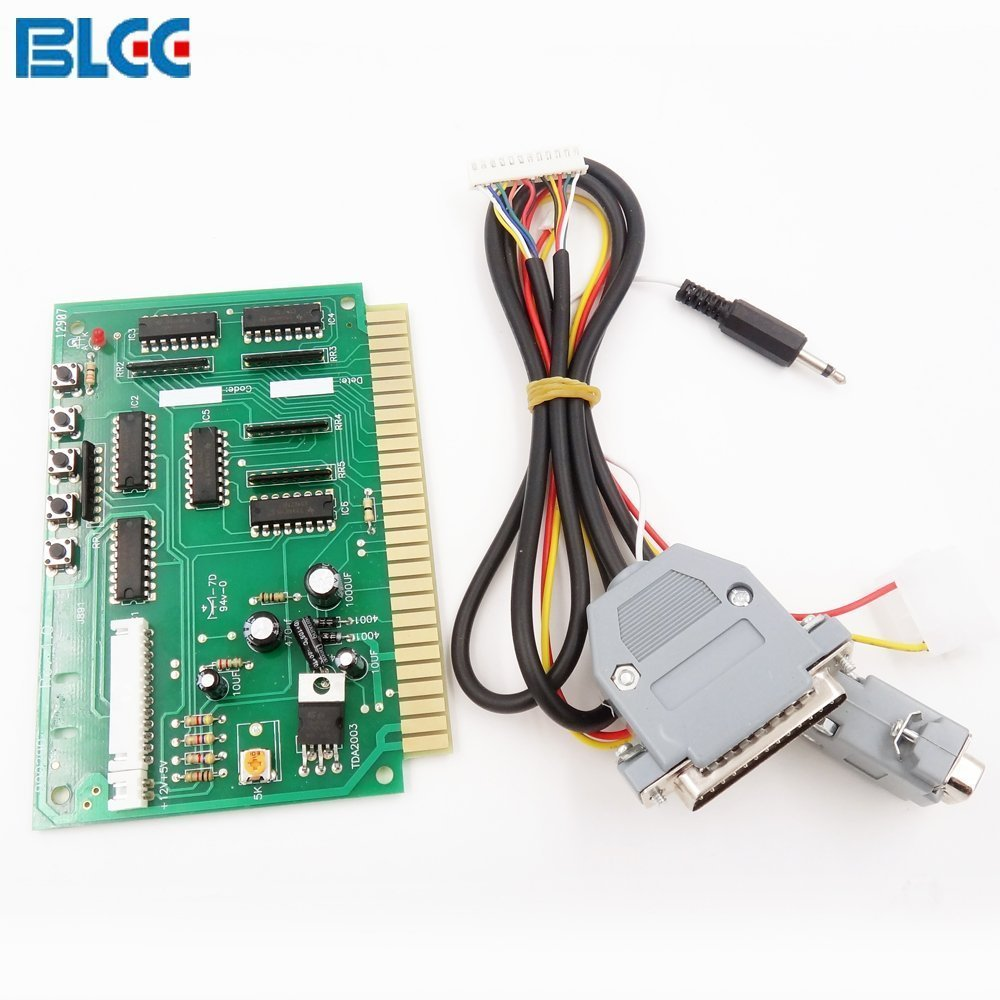 Cheap Pc 2 Jamma Find Deals On Line At Alibabacom Board Wiring Diagram Get Quotations Blee To Converter Pc2 Computer For Arcade Game Pcb Cabinet