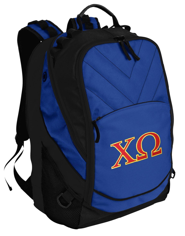 Chi O Backpack Chi Omega Sorority Bag w/ LAPTOP SECTION