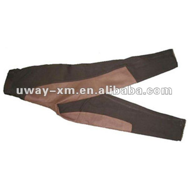 UW-AJ-008 Accept customized logo four way stretch fabric horse riding breeches for adults and children