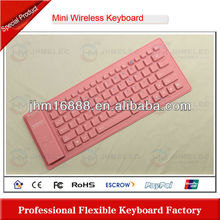 flexible silicon detachable bluetooth keyboard case for ipad 2