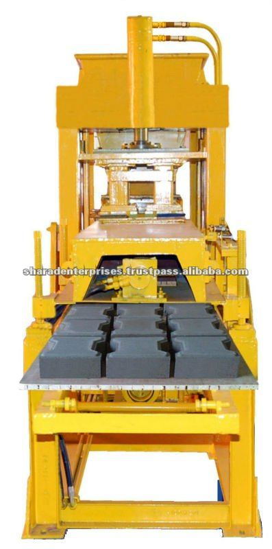beton betonmolen blok making machine