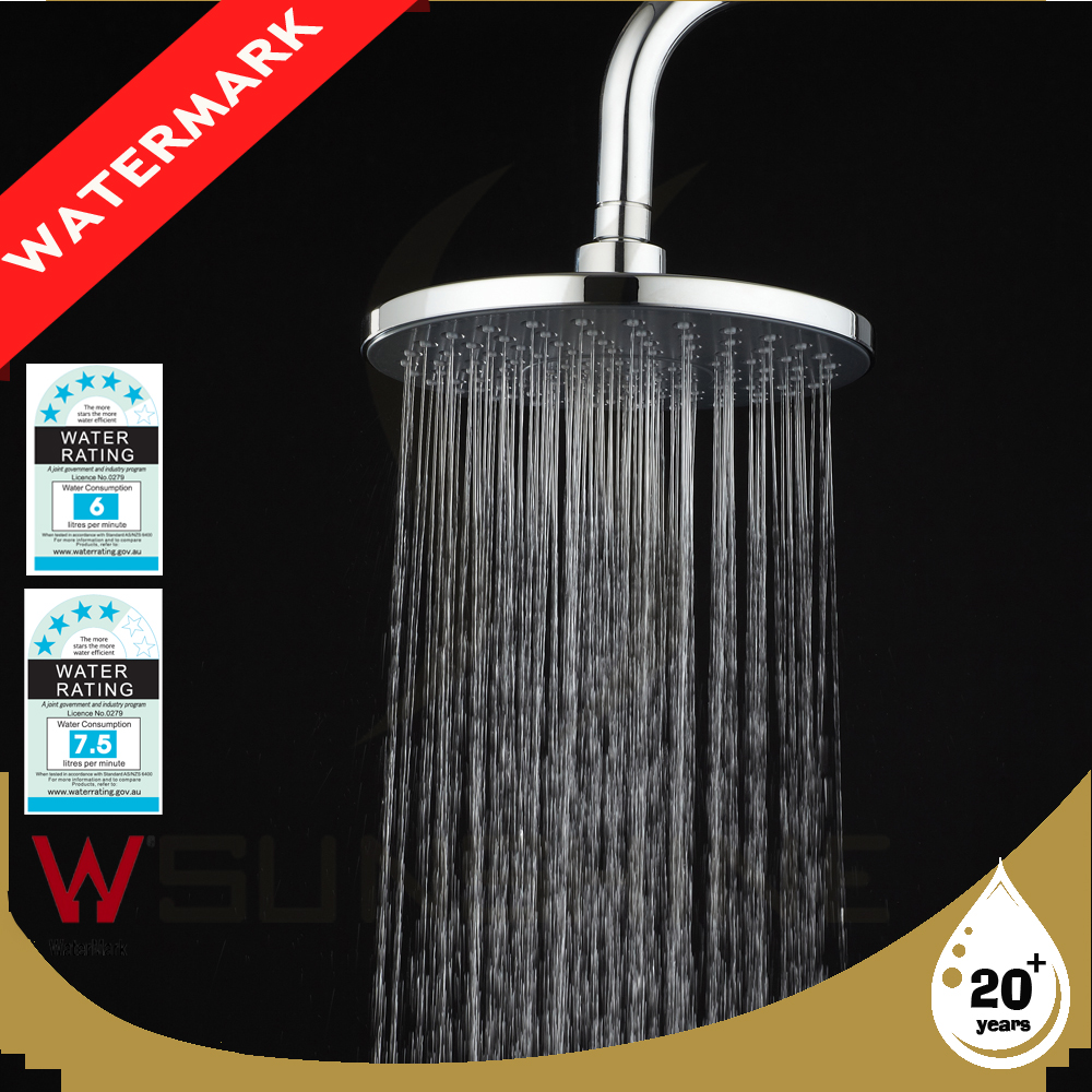 Hot Sale Plastic Chrome Hand Shower Head With Watermark Approval SSNEW 002