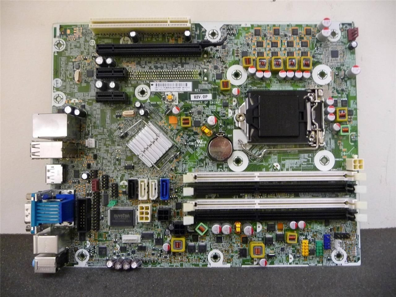 HP 615114-001 System board (motherboard) assembly - Includes Trusted Platform Module (TPM) - For Worldwide