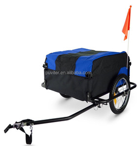 Foldable Cargo Trailer bike Cargo Utility Luggage Bicycle Trailer CT003