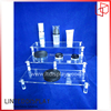 Solid Acrylic Material Made Cosmetic Display Stands