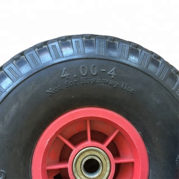 PU Puncture Proof Go Cart Kart Wheels And Tyres