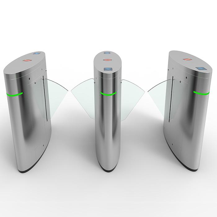 High-end flap barrier