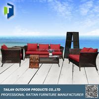 New design 7 seater sectional sofa set, outdoor/garden alibaba sofa furniture