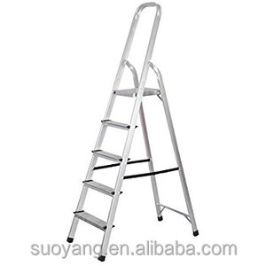 new compact household step iron ladders one side stairs