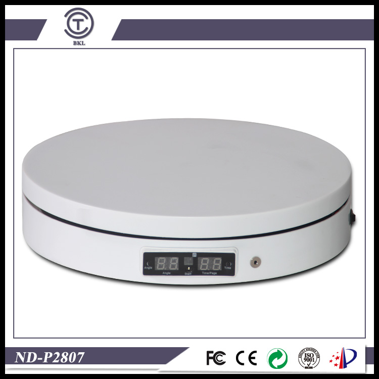 3D photography White/black Computer control turntable display turntable for shoots/take pictures