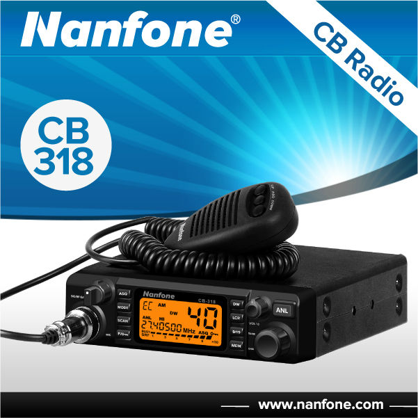 CB Radio CB-318 with PC programming ,AM,FM