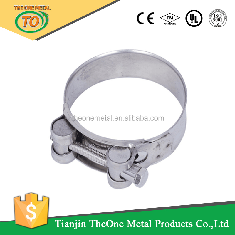 galvanized iron swivel round pipe clip