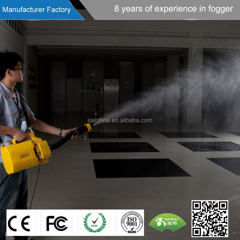 With CE 1000W adjustable electric pest control fogging machine mosquito fog machine