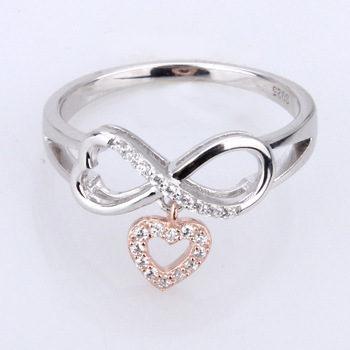 614f8aa34 sterling silver jewelry Girl's Design Silver Infinity Ring Retail Sterling  Silver jewellery ARW1608178
