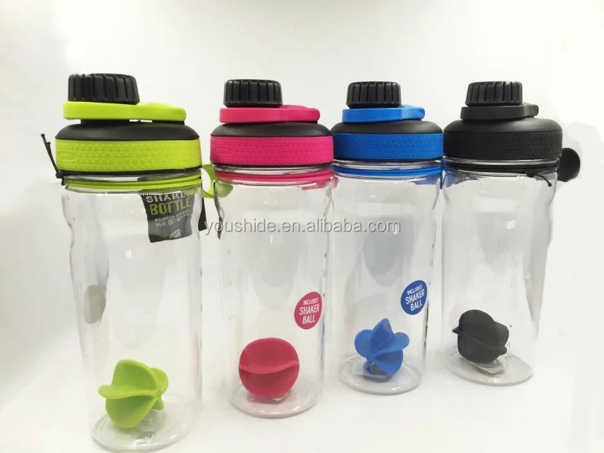 2017 latest design BPA free protein shaker bottle/ water bottle /space bottle