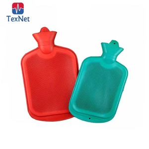 Texnet Rubber Hot Water Bag, 0.5L-2.5L Hot Water Bottle,rubber hot water bottle with cover