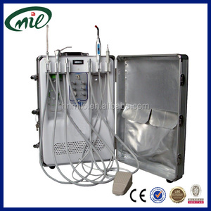 Portable box with low weight and rod boxes style dental hospital dental clinics portable mini dental unit