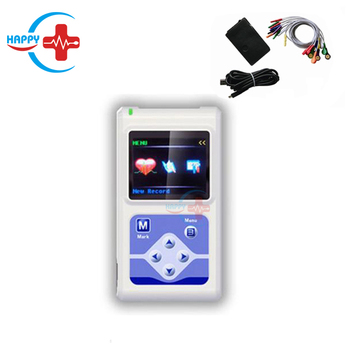 HC-H007 Medical 12 Channels Holter ECG Monitor System for 24 hours ECG monitor system