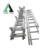 stainless 2 steel car ladder with handrail