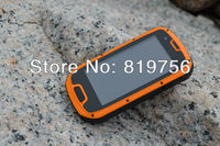 4.3'' S09 nfc phone android wcdma gsm dual sim android smart ip68 waterproof phone with nokia battery