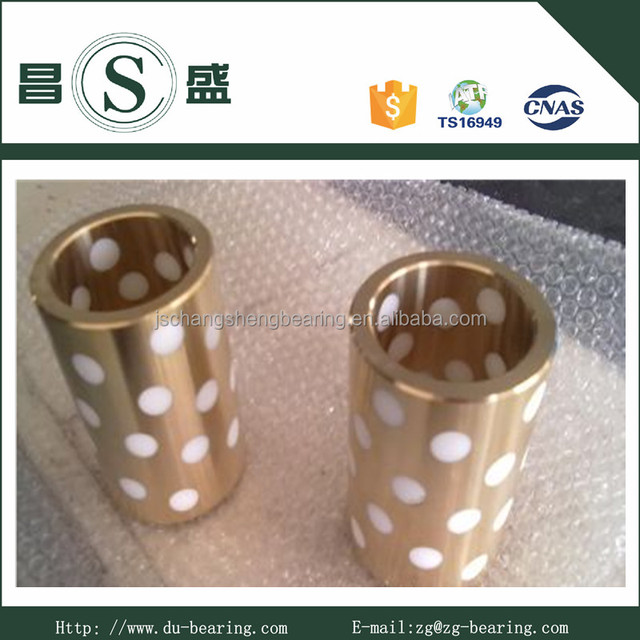 DIN9834 Bushing Oiless Self-lubricated Bronze Bushing Auto Industry Mold Parts