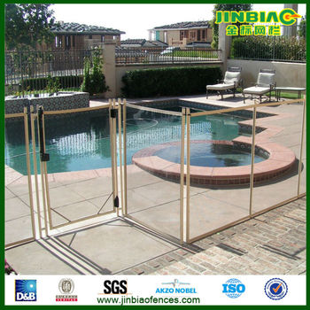 Removable Safety Mesh Pool Fence For Swimming Pool Buy Mesh Pool Fence Safety Mesh Pool Fence