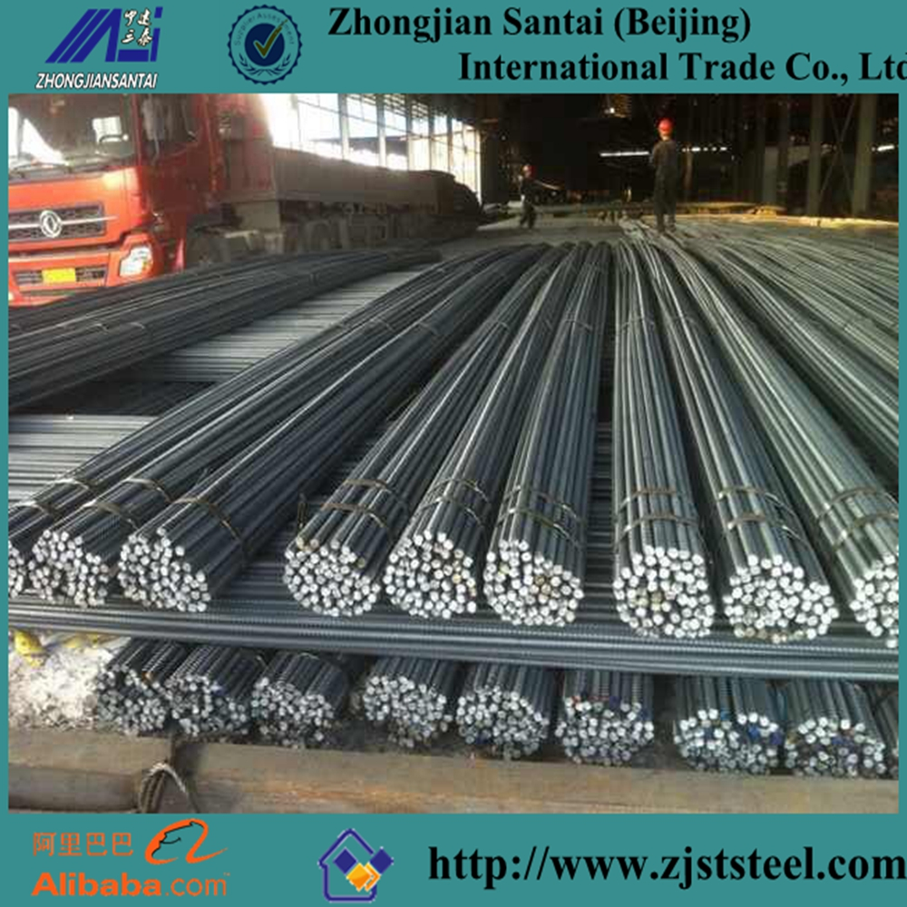 ASTM A615 Gr 40 60 High Tensile Reinforcing Steel Bar Price