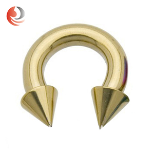 ZhiRen wholesale anodized titanium Huge Gauge body piercing