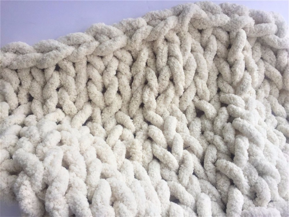 ef7c149f5b2 With this Super chunky arm knitting polyester giant yarn to crochet rugs  knit hat