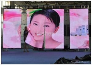 wedding led display p5 flexible buy led display high resolution Indoor 1/16 scan 256*128mm 64*32 pixel LED Video Wall Screen