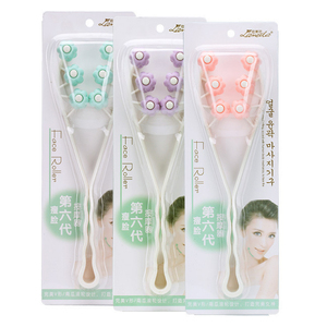 Facial plastic balls massage roller soft slimming face care slimming massage face care healthy tool
