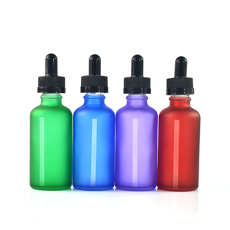 matt frosted amber blue clear black and green glass dropper bottle 5ml 10ml 15ml 20ml 30 ml 50ml 60ml 100ml for essential oil