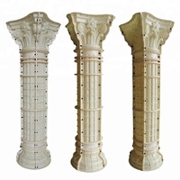 Diameter 30cm concrete column molds and roman pillar for sale