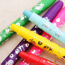 New Design Colorful Oil Gel Painting Pen For School Children Crayon Marker Pen