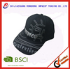character factory directly supply stitch hat cotton brushed custom logo cotton hat promotion embroidery baseball caps and hats