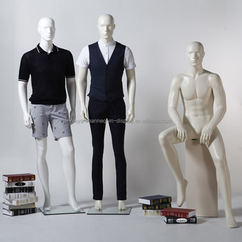 2015 Latest Fiberglass Full Body Male Mannequin