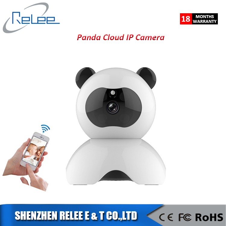 Panda night vision HD 720P cctv security camera Wireless home two-way audio surveillance cloud wifi IP Camera