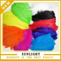 cheap party ostrich feather for sale for wedding decoration