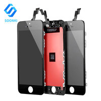 Free Shipping Full original display LCD screen digitizer for apple iphone 5, foxcoon screen for iphone 5 5s 5c original