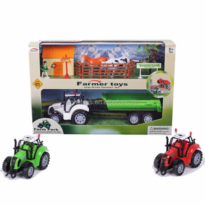 2018 new Diecast farm tractor Play Set for children ages 3+