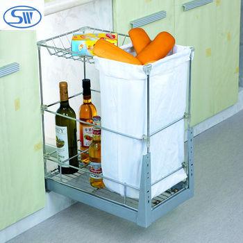 Hpj301 Slab Pull Basket/kitchen Rack /stainless Steel Spice Rack ...
