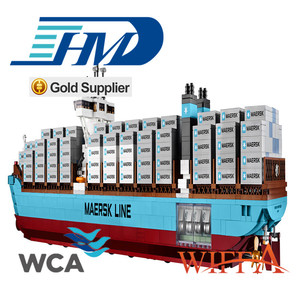 china supplier 20ft/40ft/40ft HC/HQ second-hand dry cargo container best  quality retail price for sale
