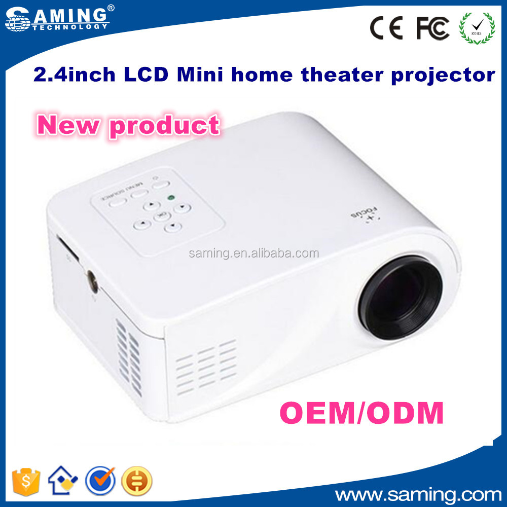 2016 Mini portable projector , LED LCD projector for home theater office school