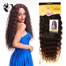 New arrival Miss ROLA Ombre Synthetic Hair Extension Air Deep Wave Hair Weave 3pcs/Lot
